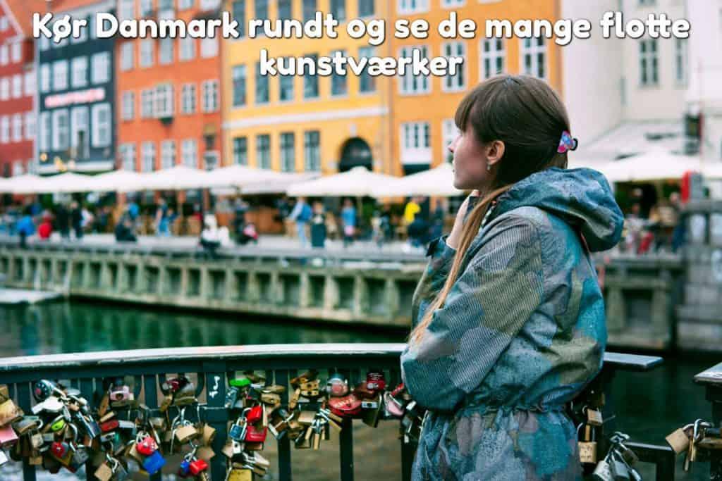 Kør Danmark rundt og se de mange flotte kunstværker