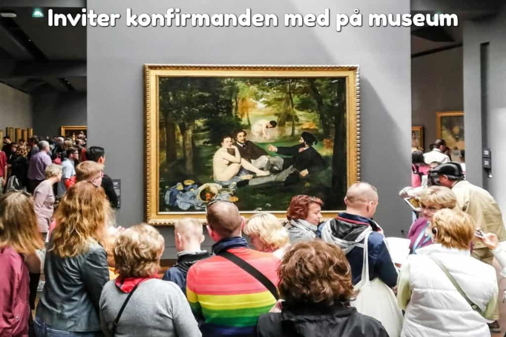 Inviter konfirmanden med på museum